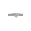 1.24 ct. Heart Cut Solitaire Ring, F, SI1 #3