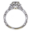 0.91 ct. Round Cut Solitaire Ring, J, VVS1 #3