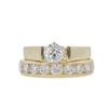 1.01 ct. Round Cut Bridal Set Ring, H, SI1 #3
