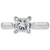 1.23 ct. Princess Cut Solitaire Ring, J, VS2 #3