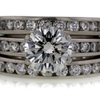 1.73 ct. Round Cut Bridal Set Ring #1