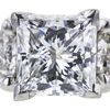 1.30 ct. Princess Cut Right Hand Ring, E, VVS1 #4