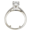 0.95 ct. Princess Cut Bridal Set Ring, F-G, VS1 #3
