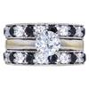 0.97 ct. Round Cut Bridal Set Ring, G, SI2 #3