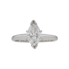 1.02 ct. Marquise Cut Solitaire Ring, G, SI2 #3