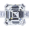1.57 ct. Square Emerald Cut Bridal Set Tacori Ring, I, VVS2 #4