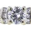 1.08 ct. Round Cut Solitaire Ring, G, I1 #4