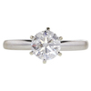 0.99 ct. Round Cut Solitaire Ring, G-H, I2 #3