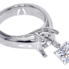 1.20 ct. Princess Cut Solitaire Ring #3