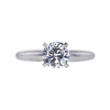 1.00 ct. Round Cut Solitaire Ring, F, SI1 #2