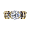 1.52 ct. Round Cut Bridal Set Ring, I, SI2 #3