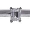 0.7 ct. Emerald Cut Solitaire Ring, E, VS1 #4