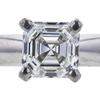 1.01 ct. Square Emerald Cut Solitaire Ring, I, VS2 #1