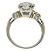 1.86 ct. European Cut Bridal Set Ring, G-H, I2 #3