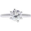 1.5 ct. Round Cut Solitaire Ring, H, I1 #3