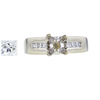 0.8 ct. Princess Cut Solitaire Ring, H, VS1 #3
