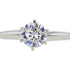 0.87 ct. Round Cut Solitaire Ring, G, I1 #3