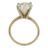 3.83 ct. Round Cut Solitaire Ring, M-Z, VVS2 #4