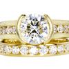 2.02 ct. Round Cut Bridal Set Ring, I, I1 #1