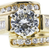 1.30 ct. Round Cut Solitaire Ring, K, I1 #4