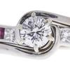 0.5 ct. Round Cut Bridal Set Ring, H, VS1 #4