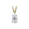 1.00 ct. Pear Cut Pendant Necklace, H, VS1 #3