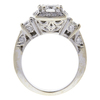 1.02 ct. Round Cut Bridal Set Ring, G, VS1 #4