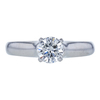 1.01 ct. Round Cut Solitaire Ring, G, SI1 #3