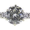 0.99 ct. Round Cut Solitaire Ring, L, SI2 #4