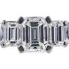0.64 ct. Emerald Cut Bridal Set Ring, G, VVS2 #4