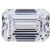 2.00 ct. Emerald Cut 3 Stone Ring #1