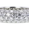 Round Cut Eternity Band Tiffany & Co. Ring, H-I, VVS2-VS1 #2