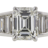1.77 ct. Emerald Cut Solitaire Ring, H, VS1 #4