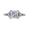 1.60 ct. Princess Cut Solitaire Ring, G, VS2 #2