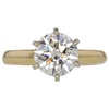 2.47 ct. Round Cut Solitaire Ring, L, SI2 #3
