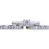 0.52 ct. Asscher Cut Bridal Set Ring, D, VVS2 #3