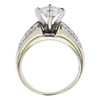 0.91 ct. Princess Cut Solitaire Ring, F, SI2 #3