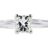 1.06 ct. Princess Cut Solitaire Ring #3