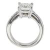 1.25 ct. Princess Cut Bridal Set Ring, F, SI1 #4