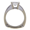 1.1 ct. Princess Cut Solitaire Ring, H, SI2 #4