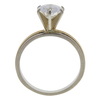 1.23 ct. Round Cut Solitaire Ring, G-H, I1 #3
