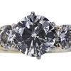 1.52 ct. Round Cut Bridal Set Ring #4
