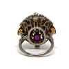 1.5 ct. Round Cut Right Hand Ring #3