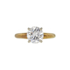 1.19 ct. Round Cut Solitaire Ring, F, SI2 #3