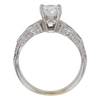 0.74 ct. Oval Cut Solitaire Ring, D, VVS2 #4