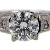 1.04 ct. Round Cut Solitaire Ring #2