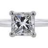 1.01 ct. Princess Cut Bridal Set Ring, H, VVS2 #4
