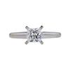1.00 ct. Princess Cut Solitaire Ring, J, VS2 #3