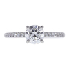 1.01 ct. Round Cut Solitaire Ring, F, SI1 #3