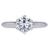 1.00 ct. Round Cut Solitaire Tiffany & Co. Ring, D, VS2 #3